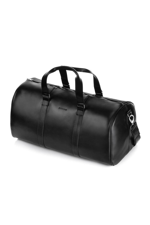 Torba podróżna ze skóry naturalnej r20 smooth leather czarny