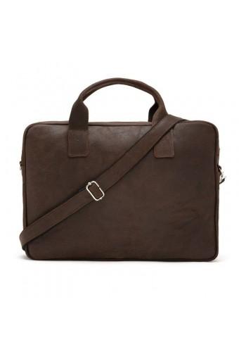 Skórzana torba podróżna walizka na ramię brodrene bl20 jasny brąz