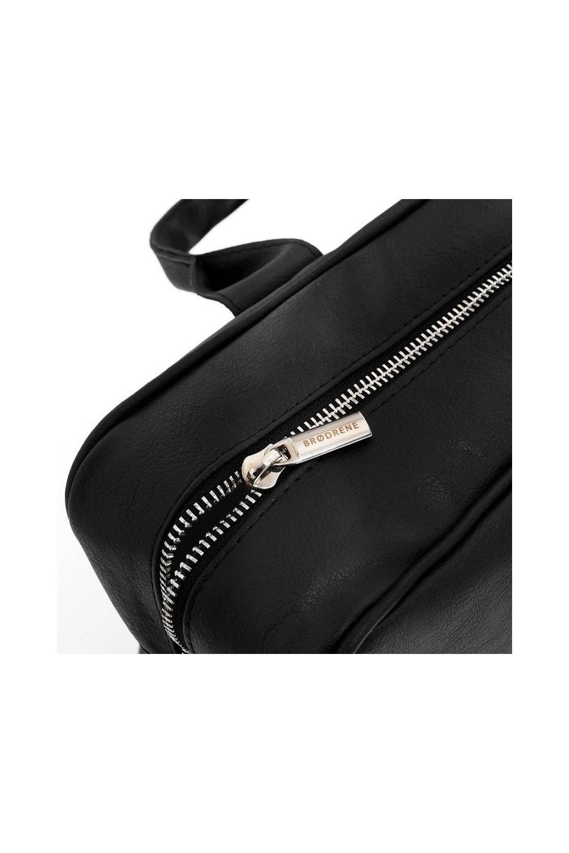 Skórzana torba na ramię teczka brodrene R02 jasny brąz