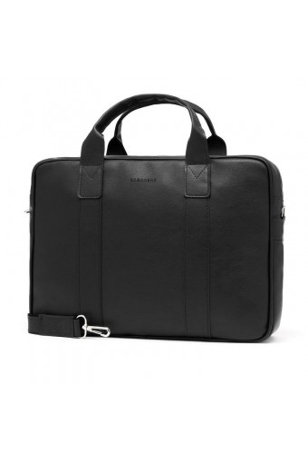 Casual torba męska na ramię na lapotop czarna
