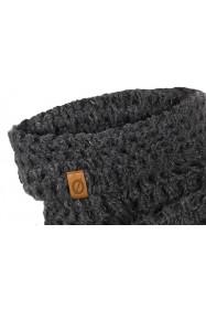 Super cienki portfel ze skóry brodrene sw05 ciemny brąz