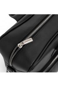 Podróżna torba ze skóry brodrene smooth leather r10 czarna