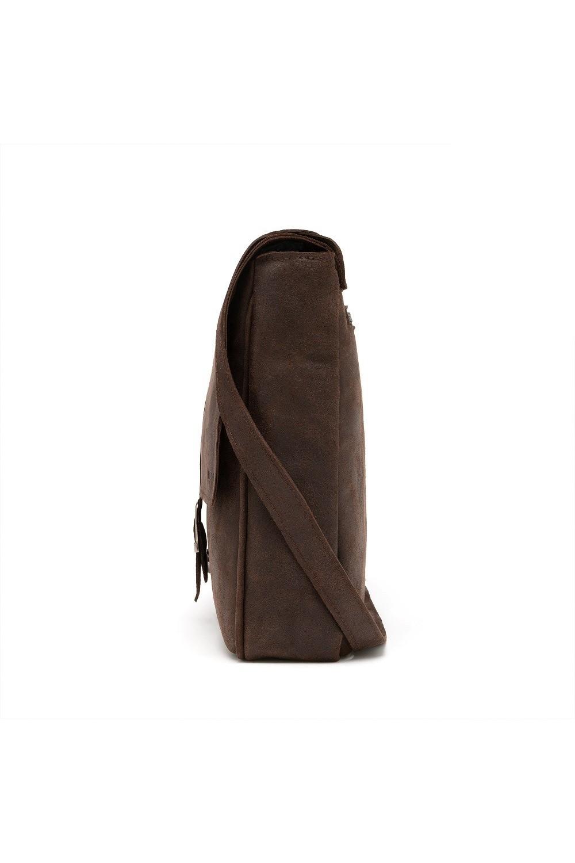 1a5f70a247722 Torba podróżna ze skóry naturalnej r20 smooth leather czarny - Brødrene