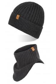 Elegancka torba ze skóry naturalnej brodrene c01 cortez ciemny brąz