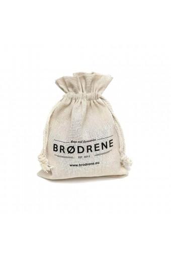 Damskie rękawiczki zimowe jednopalczaste brodrene r02 jasnoszare