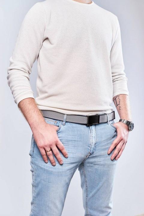 Męski skórzany portfel slim wallet brodrene sw08 jasny brąz