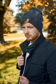 Męska czapka zimo...